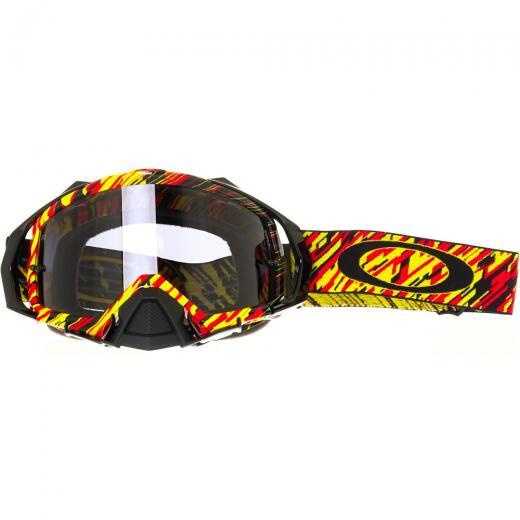 d12439689 ... o Mayhem PRO MX Rain of Terror tem um design de muito bom gosto. Feito  com uma combinação de cores em preto, cinza escuro, laranja e amarelo, ...