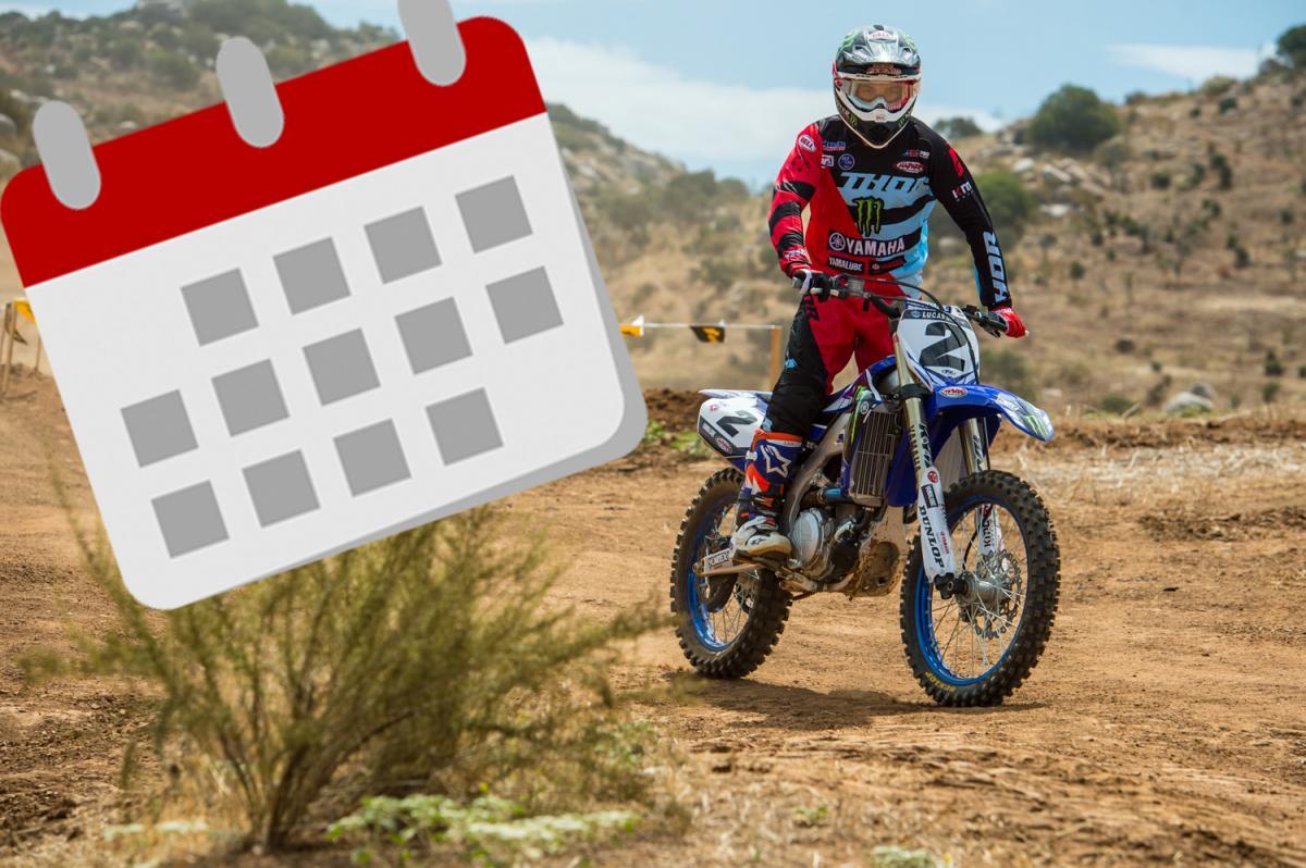 Calendário Motocross 2018 881ad0acdb