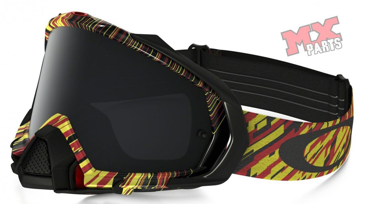 01431617e Conheça o óculos Oakley Mayhem PRO MX Rain of Terror