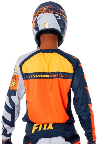 Camisa Fox 180 Sayak Laranja 20353641de