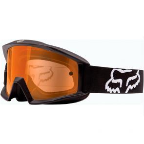 Óculos Fox Main Enduro Matte Black Lente Laranja