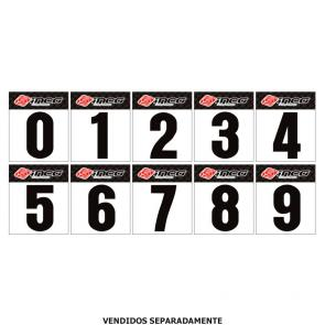 Numeral adesivo para number plate