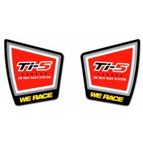 Adesivo para Escape Pro Circuit Ti-5 Pequeno