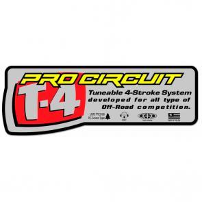 Adesivo Pro Circuit Para Escapamento T-4