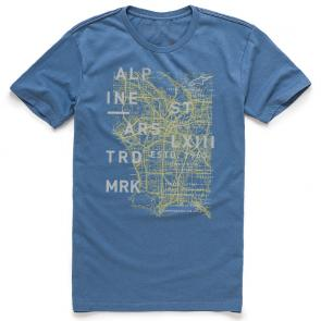 Camiseta Alpinestars Map