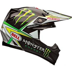 Capacete Bell Moto 9 Flex Monster 17