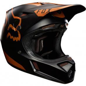 Capacete Fox V3 Copper Moth Edição Limitada