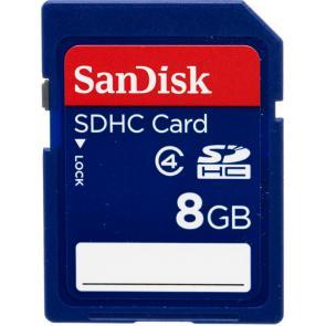 Cartão de Memória SanDisk SDHC 8GB - Classe 4