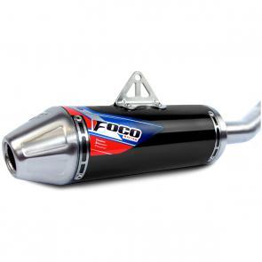 Curva + Ponteira Foco Racing KXF 250