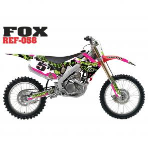 Kit Adesivo Fox Checked Out