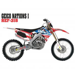 Kit Adesivo Completo Geico Nations