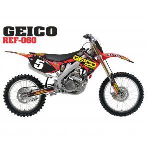 Kit Adesivo Completo Geico Power
