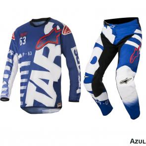 Kit Calça + Camisa Alpinestars Racer Braap 18
