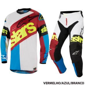Kit Calça + Camisa Alpinestars Racer Flagship