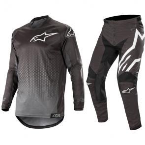Kit Calça + Camisa Alpinestars Racer Graphite