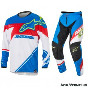 Kit Calça + Camisa Alpinestars Racer Supermatic 16