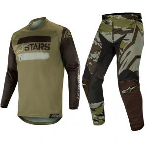 Kit Calça + Camisa Alpinestars Racer Tactical 19