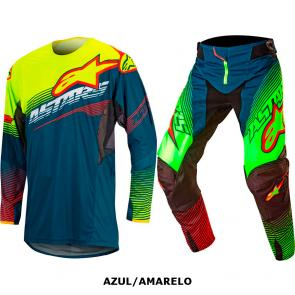 Kit Calça + Camisa Alpinestars Techstar Factory 17