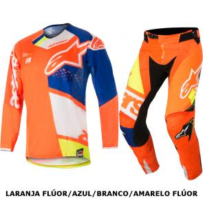 Kit Calça + Camisa Alpinestars Techstar Factory 18
