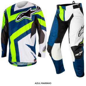 Kit Calça + Camisa Alpinestars Techstar Factory