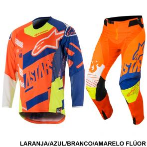 Kit Calça + Camisa Alpinestars Techstar Screamer