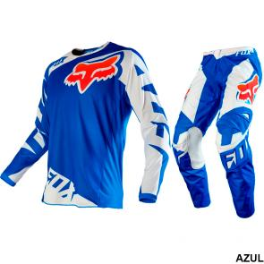 Kit Calça + Camisa Fox 180 Race 16