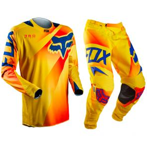 Kit Calça + Camisa Fox 360 Flight