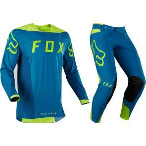 Kit Calça + Camisa Fox Flexair Teal Moth Edição Limitada