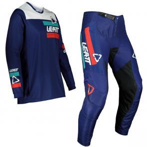 Kit Calça + Camisa Leatt 3.5 Ride Azul 2022