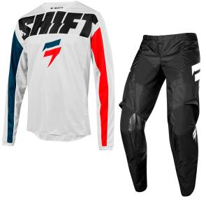 Kit Calça + Camisa Shift White York