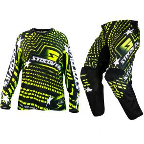 Kit Calça + Camisa Stocovich Racing Fluor