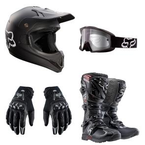 Kit Equipamento Motocross Fox Racer