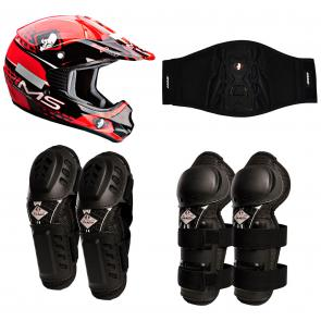 Kit Equipamento Motocross Infantil IMS