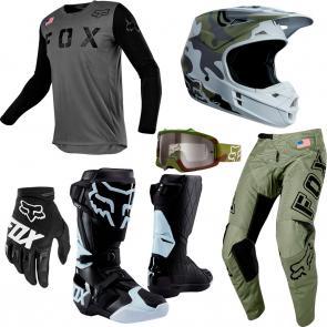 Kit Completo Equipamentos Fox 180 San Diego Edição Especial