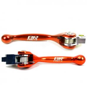 Kit Manetes Retráteis 1 Way BR Parts KTM 250/350/450 09/13 + Husaberg 09/13