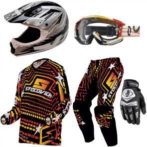 Kit Motocross Scotovich - 5 Itens
