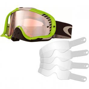 Kit Óculos + Tear Off Oakley Crowbar Bio Hazard