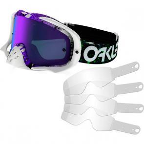 Kit Óculos + Tear Off Oakley Crowbar MX FP Splatter