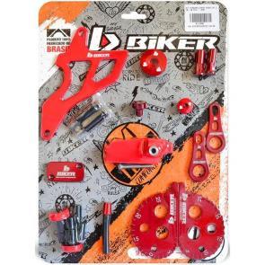 Kit Personalização CRF 230 Biker - 10 Peças