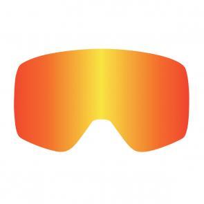 Lente Óculos Dragon NFXs Vermelho Espelhado