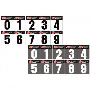 Numeral Adesivo para Number Plate Grande