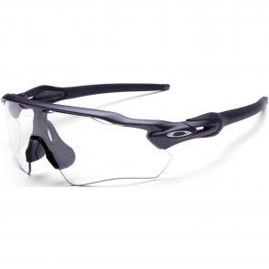 Óculos Ciclismo Oakley EVZero Path Preto Polido Clear Photochromic