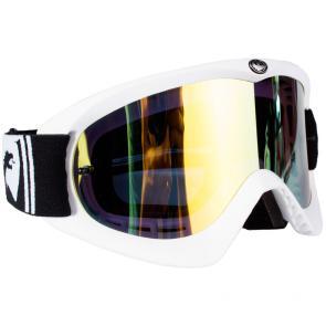 Óculos Dragon MDX Branco Espelhado