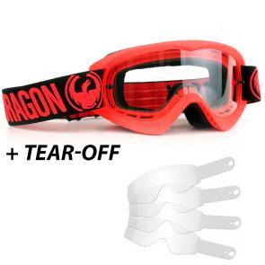 Óculos Dragon MDX Red Clear