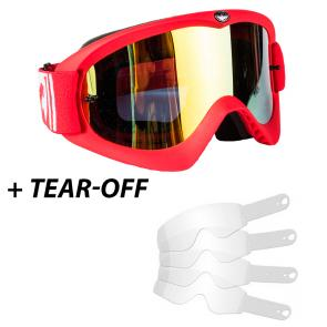 Óculos Dragon MDX Red-L Lente Espelhada