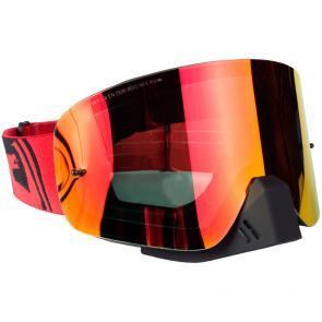 Óculos Dragon NFX Red Black Split Lente Vermelha Espelhada
