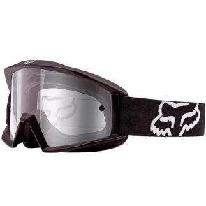 Óculos Fox Main Sand Matte Black Lente Cinza