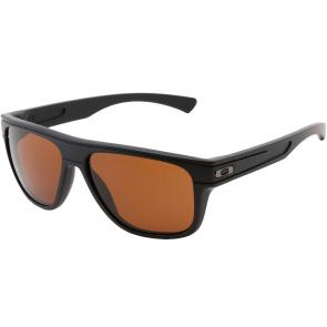 Óculos de Sol Oakley Breadbox Preto Fosco Lente Dark Bronze