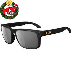 Óculos de Sol Oakley Holbrook Shaun White Gold Preto Fosco Polarizado