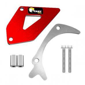 Protetor de Pinhão Start Racing CRF 250R 10/13 CRF 250X 05/16 Anodizado